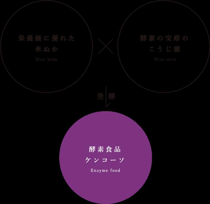 酵素食品ケンコーソ